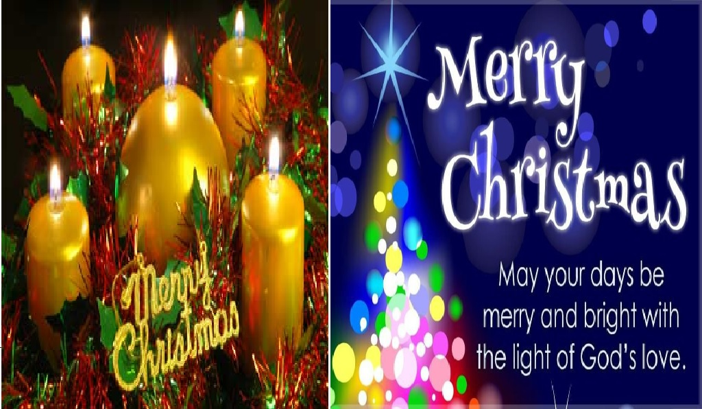 Evergreen Merry Christmas wishes, 2019 greeting messages and ...