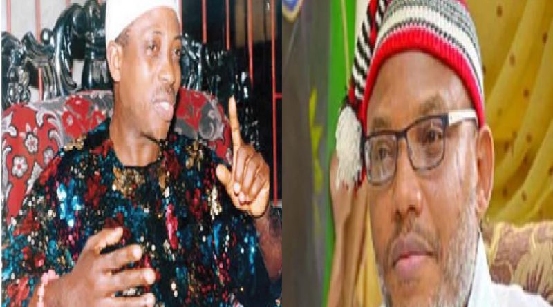 Uwazuruike reveals why Nnamdi Kanu was sacked by MASSOB